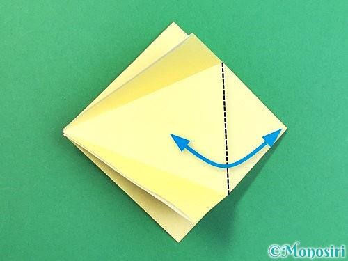 折り紙でアヒルの折り方手順11