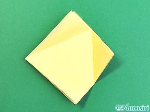 折り紙でアヒルの折り方手順12