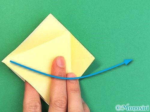 折り紙でアヒルの折り方手順13