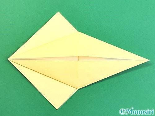 折り紙でアヒルの折り方手順15