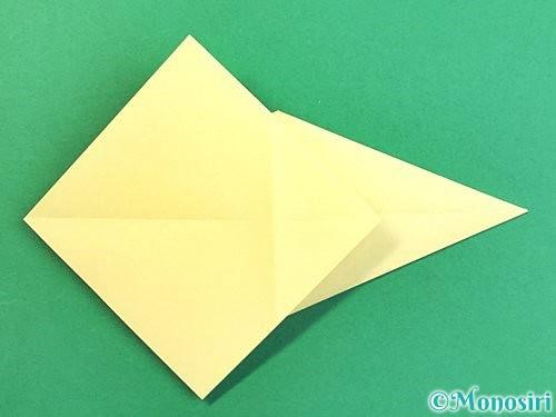 折り紙でアヒルの折り方手順16