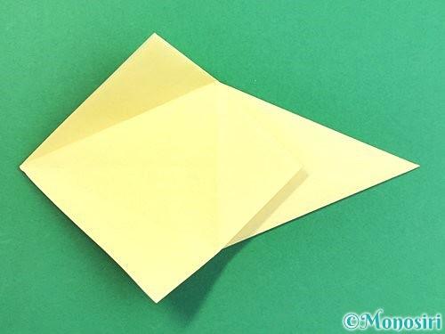 折り紙でアヒルの折り方手順18