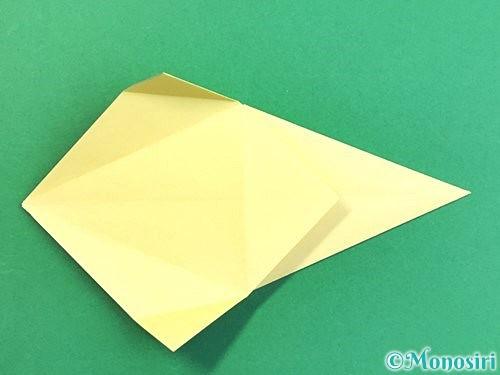 折り紙でアヒルの折り方手順20