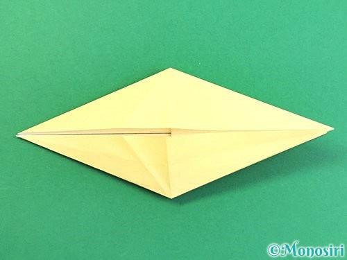 折り紙でアヒルの折り方手順22
