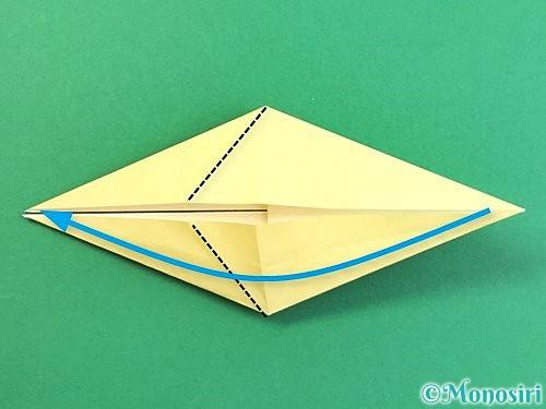 折り紙でアヒルの折り方手順23