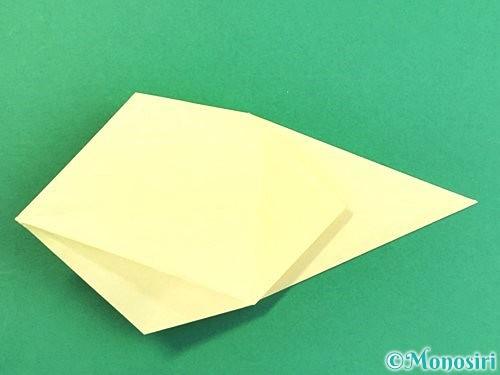 折り紙でアヒルの折り方手順26