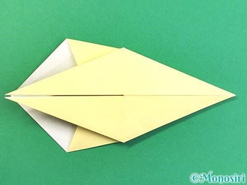 折り紙でアヒルの折り方手順27