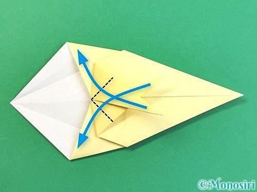 折り紙でアヒルの折り方手順30