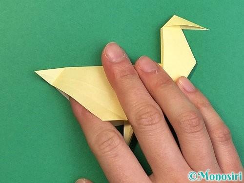 折り紙でアヒルの折り方手順50