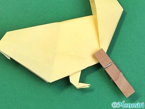 折り紙でアヒルの折り方手順60