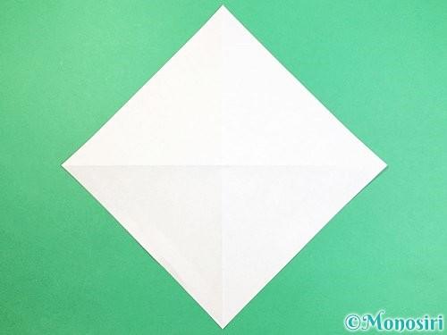 折り紙でフクロウの折り方手順3