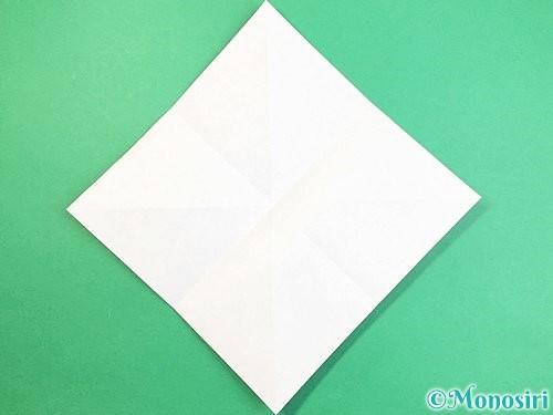 折り紙でフクロウの折り方手順5