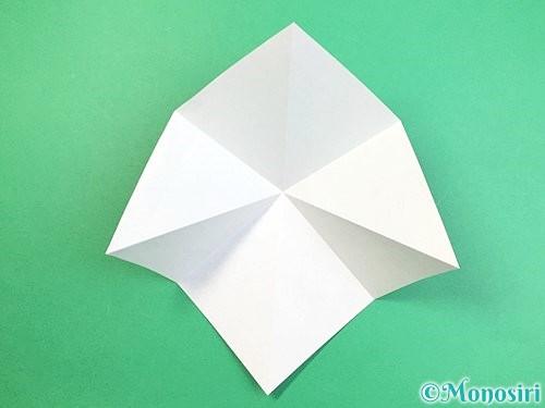 折り紙でフクロウの折り方手順6