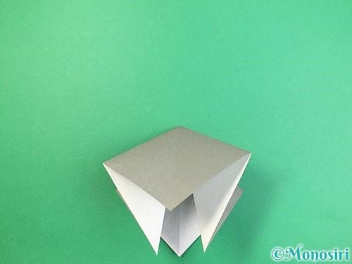 折り紙でフクロウの折り方手順7