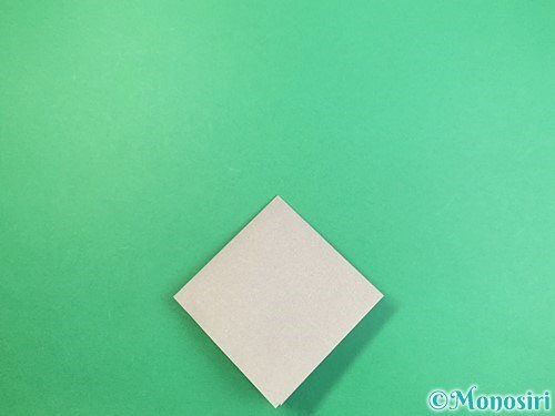 折り紙でフクロウの折り方手順8