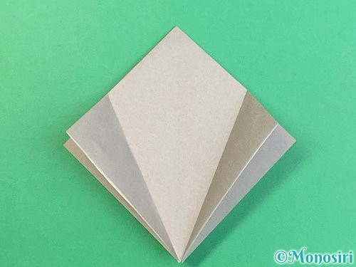 折り紙でフクロウの折り方手順10