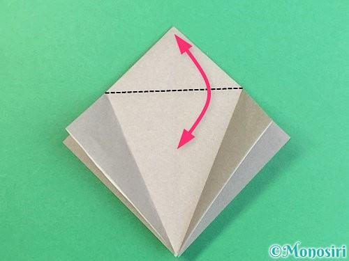 折り紙でフクロウの折り方手順11