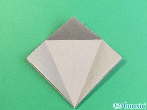 折り紙でフクロウの折り方手順12