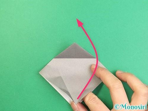 折り紙でフクロウの折り方手順13