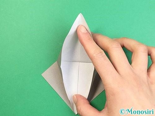 折り紙でフクロウの折り方手順14