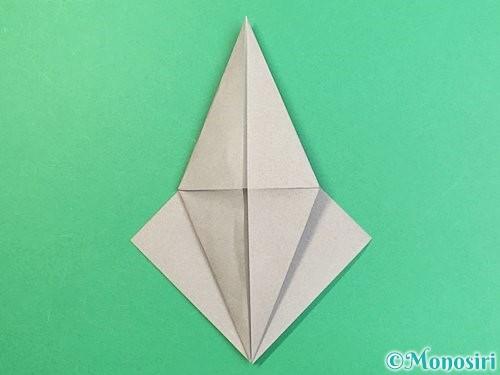 折り紙でフクロウの折り方手順15