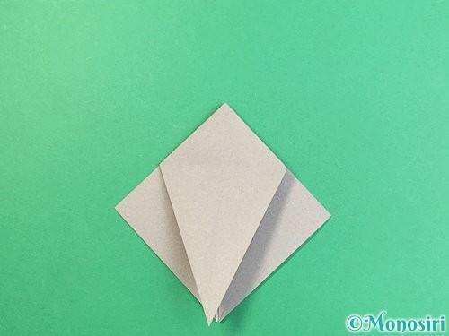 折り紙でフクロウの折り方手順17