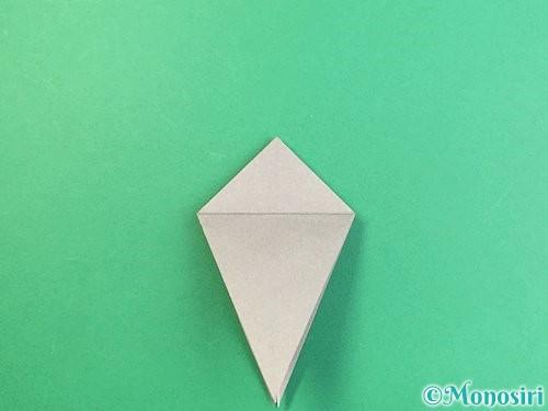 折り紙でフクロウの折り方手順18