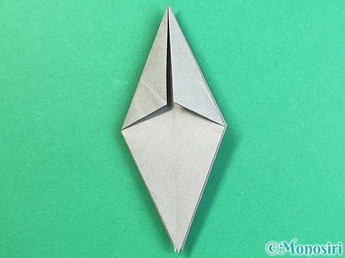 折り紙でフクロウの折り方手順21