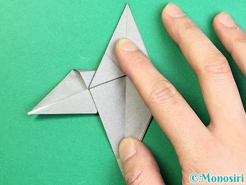折り紙でフクロウの折り方手順24