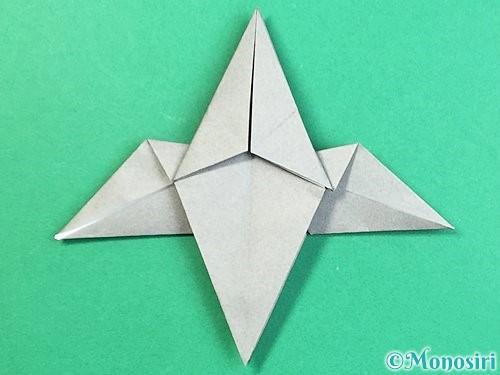 折り紙でフクロウの折り方手順26