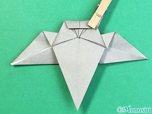 折り紙でフクロウの折り方手順30