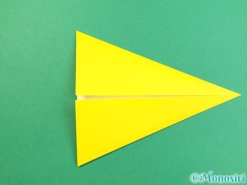 折り紙でインコの折り方手順6