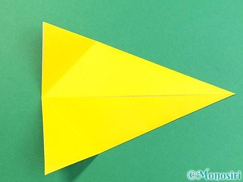 折り紙でインコの折り方手順8