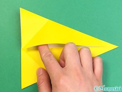折り紙でインコの折り方手順9