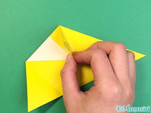折り紙でインコの折り方手順12