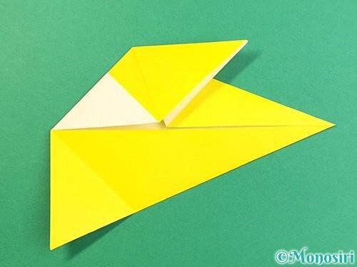 折り紙でインコの折り方手順14