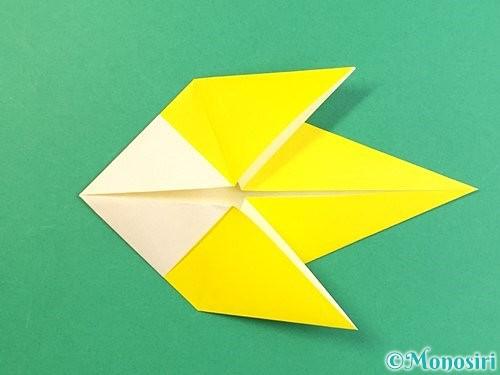 折り紙でインコの折り方手順15