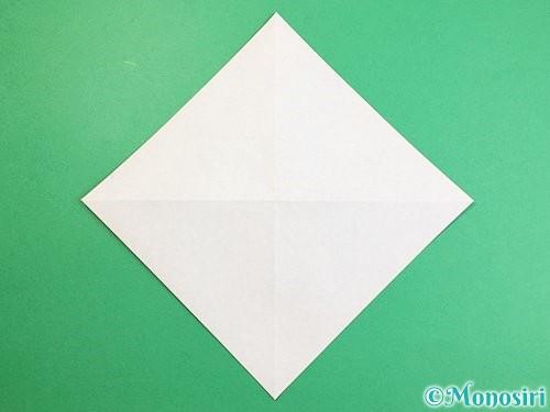 折り紙でツバメの折り方手順3