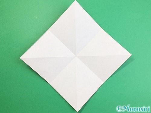 折り紙でカラスの折り方手順5