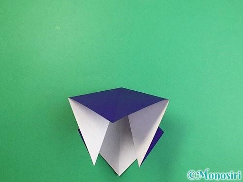 折り紙でカラスの折り方手順7