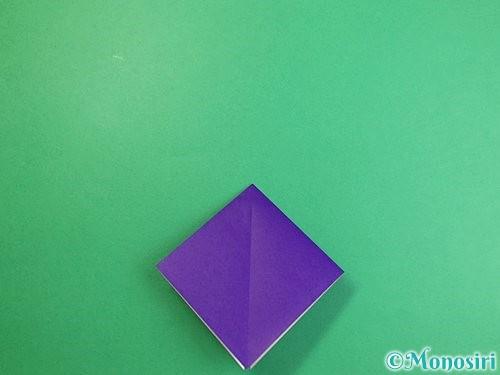 折り紙でカラスの折り方手順8