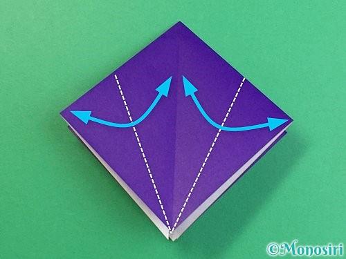 折り紙でカラスの折り方手順9
