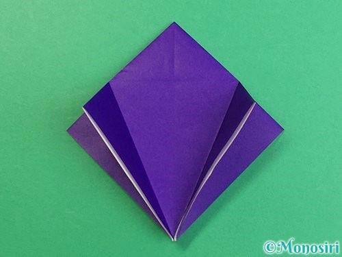 折り紙でカラスの折り方手順10