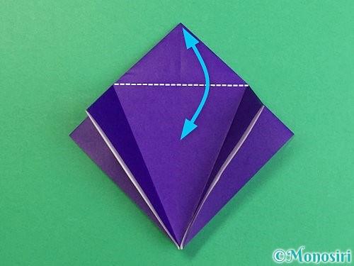 折り紙でカラスの折り方手順11