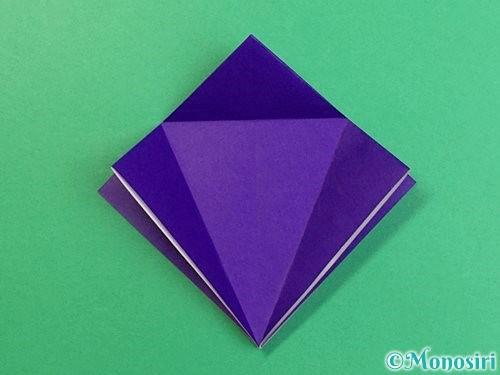 折り紙でカラスの折り方手順12