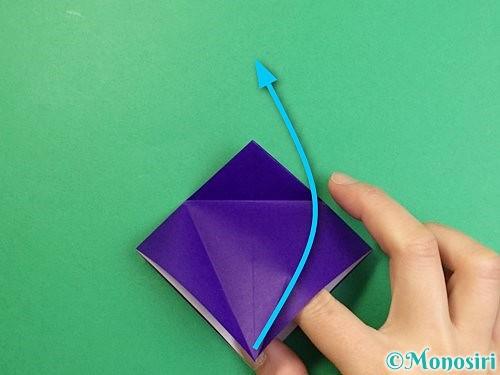 折り紙でカラスの折り方手順13