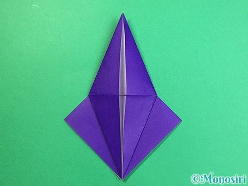 折り紙でカラスの折り方手順15