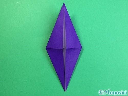折り紙でツバメの折り方手順16