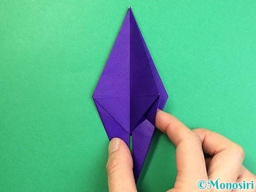 折り紙でカラスの折り方手順25