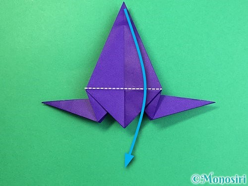 折り紙でカラスの折り方手順30